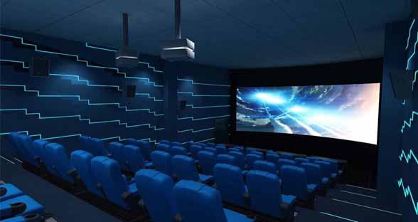 3D/4D/5D/7D数字影院设备
