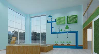 幼小学生节水科教展厅效果图